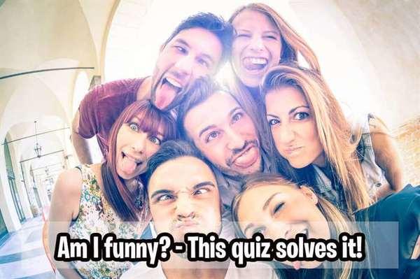Am I funny? - This quiz solves it!