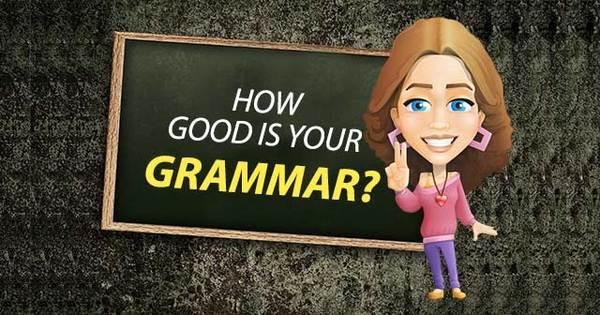 How good is your grammar? - The best grammar quiz