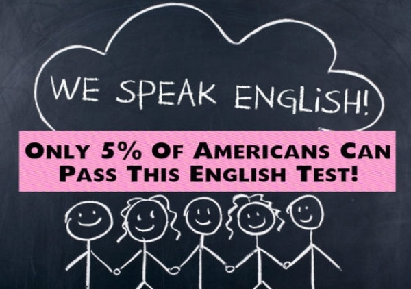 Only 5% Of Americans Can Pass This English Test!